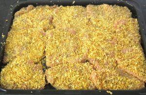 Coat-Pork-slices-with-baked-Panko-Panko-Pork-Recipe
