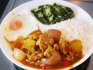 Japanese-Curry-Chicken-set-meal-Recipe